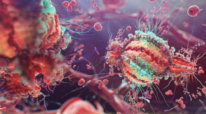 Conceito artístico do VIH criado pelo designer ucraniano Alexey Kashpersky